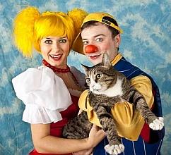 Театр кошек с успехом выступил в Праге