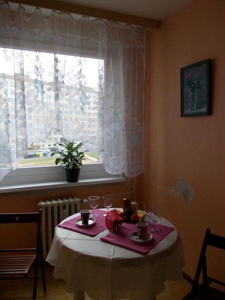 Квартира в Теплице Гостинная