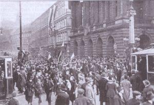 1918 Praha Narodni divadlo Политическая элита молодой Чехословакии