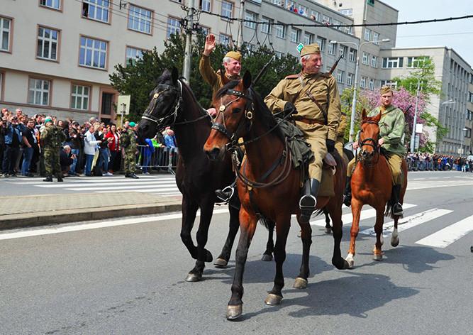 Празднование 70-летия Победы в Остраве