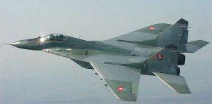 Avia MiG 29 Легендарный МиГ-29 выставлен в пражском авиамузее Прага Чехия