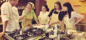 Готовим с детьми в школе Chefparade