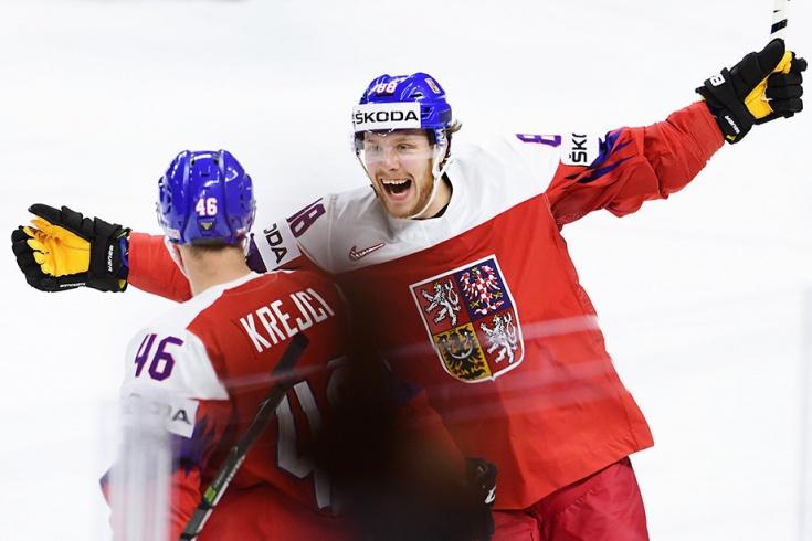 Новости Чехии Хоккей ЧМ2018