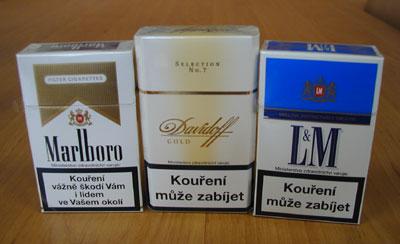 Cigarety С января пачка сигарет подорожает на 10 - 15 евроцентов
