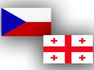 Czech Georgia flags Чехия и Грузия подписали меморандумы о проектах развития