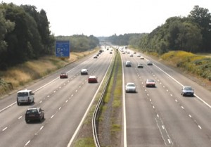 Скоростная автомагистраль в Чехии