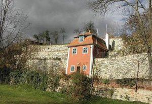 Dom Egon Shile Cesky Krumlov Дом в Ческом Крумлове, где жил Эгон Шиле