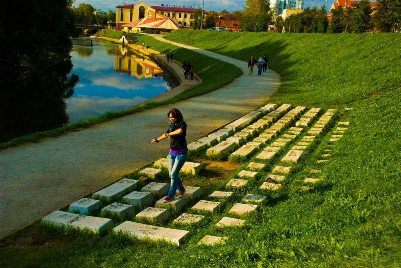 Ekaterinburg Klaviatura Екатеринбург Памятник клавиатуре
