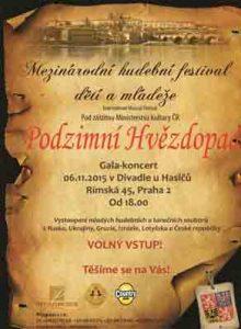 Festival 2015 Фестиваль «Осенний звездопад» в Праге