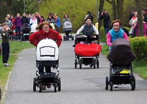 Gonky S Kocarky Гонки с детскими колясками