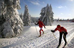 Jeseniky Zima Беги, лыжник, и не заблудись