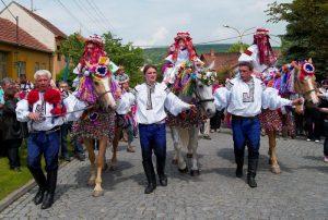 Jezda Korolej Vlcnov-Vladimir-Kubik Езда королей в городе Влчнов, Чехия
