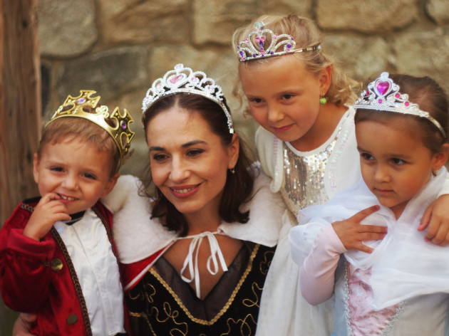 Kamenice N Lipou Rodinny zabavny Park Fabula Новости Чехии детский праздник принцесс
