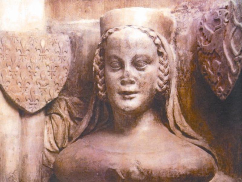 Karl 4 Zena Blanka Valua Четыре жены Карла IV: Бланка Валуа