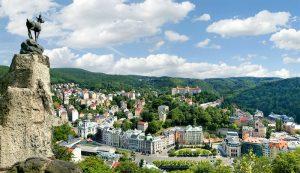 Karlovy Vary Sverhu Карловы Вары