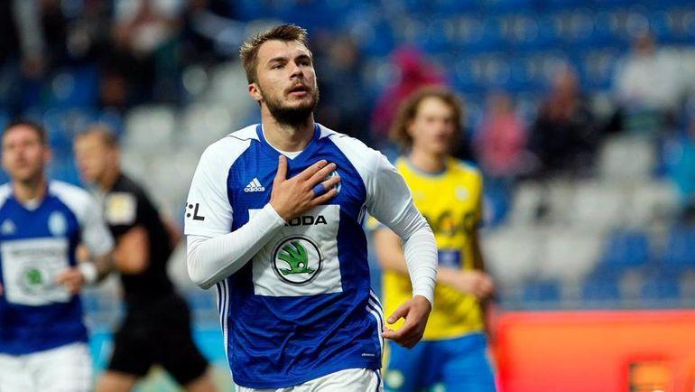 Komlichenko Nikolaj Futbolist Mlada Boleslav Комличенко Млада Болеслав