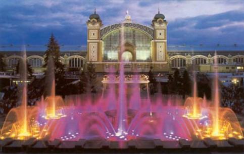 Krizikovy Fontany Кжижиковы фонтаны Прага Чехия
