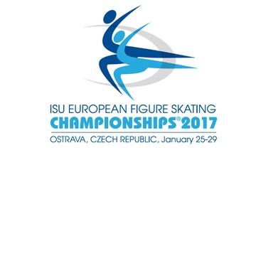 Logo Chempionat Evropy 2017 Ostrava Новости Чехии Чемпионат Европы по фигурному катанию 2017 Острава