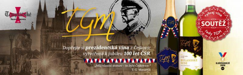 Logo Templarske Sklepy 100 Let TGM Новости Чехии вино Темпларские склепы