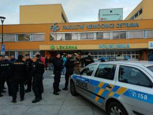 Ostrava strelba V Nemocnice Острава стрельба в больнице