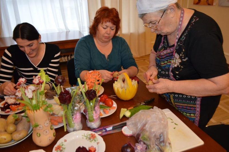 Ovoce Frukty Cvety Мастер-класс «Кухня народов России»