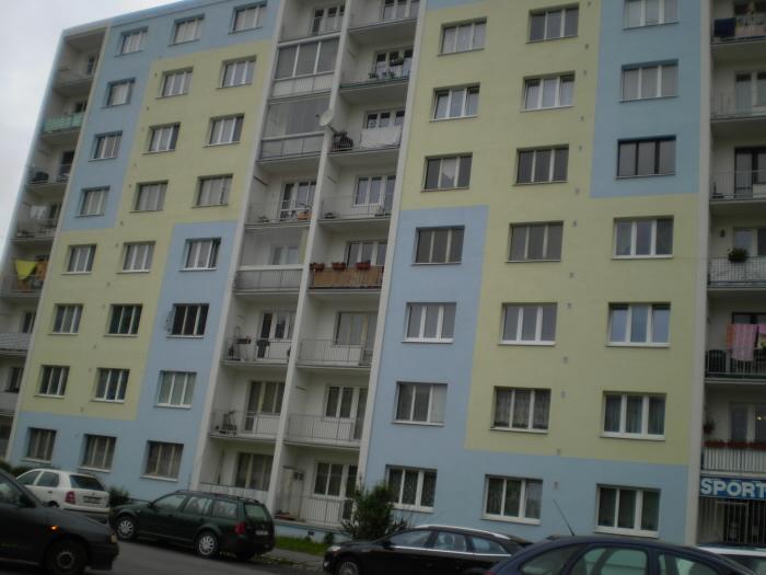 Panelak Панельные дома в Чехии