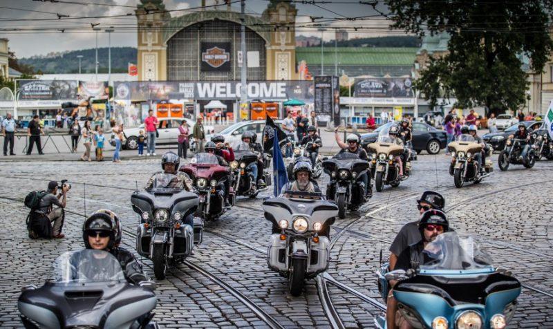 Prague Harley Days 7 Motocykly Новости Чехии Harley Davidson