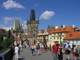 Прага туристы