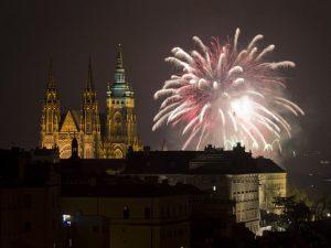 Praha-ohnostroj-novy-rok Новости Чехии Прага Новый год