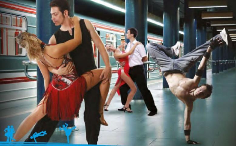 Praha Metro Tanec В Праге пройдет акция «Танец в метро»