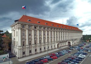 Praha Ministerstvo zahranici Министерство иностранных дел Чехии