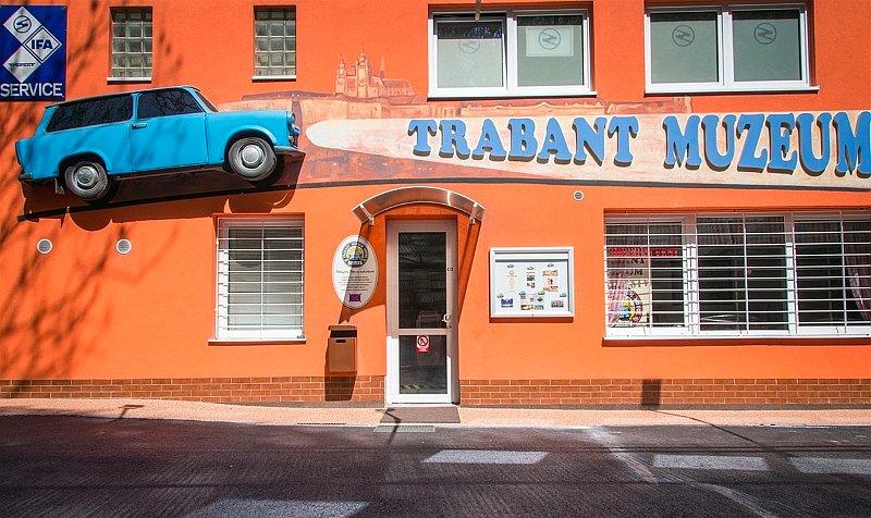 Praha Muzeum Trabant Трабант Прага Чехия