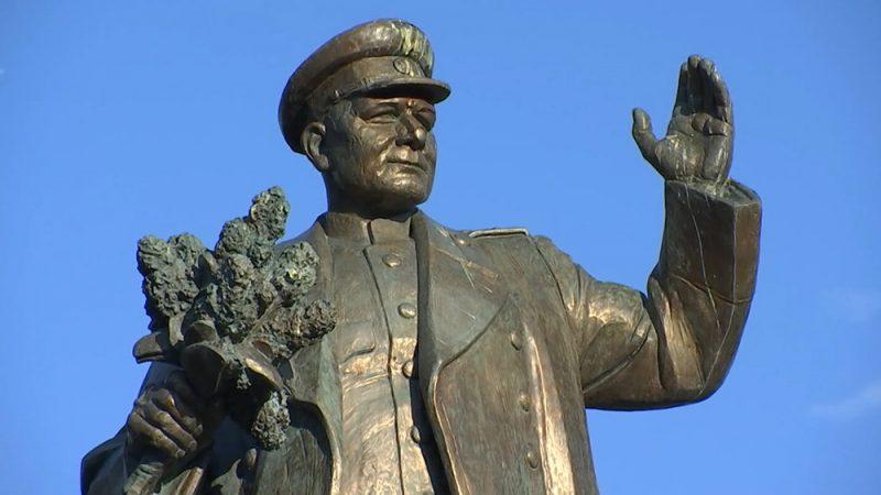 Praha Pamatnik marsalu Konevu Памянтик маршалу Коневу в Праге