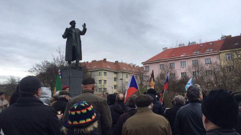 Praha Pamatnik Marshal Konev Новости Чехии Прага Конев