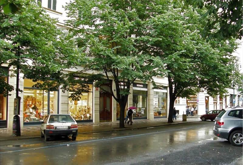 Praha Parizska ulice Новости Чехии Безопасность на улицах