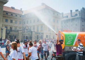 Praha PrazskyHrad Zhara Новости Чехии жара