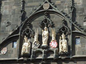 Praha Staromestska Vez Karluv Most Прогулки по Праге: Староместская мостовая башня Карлова моста
