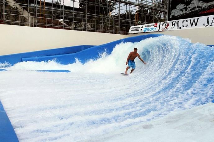 Praha Surfing Arena Покатайся на морской волне в Праге
