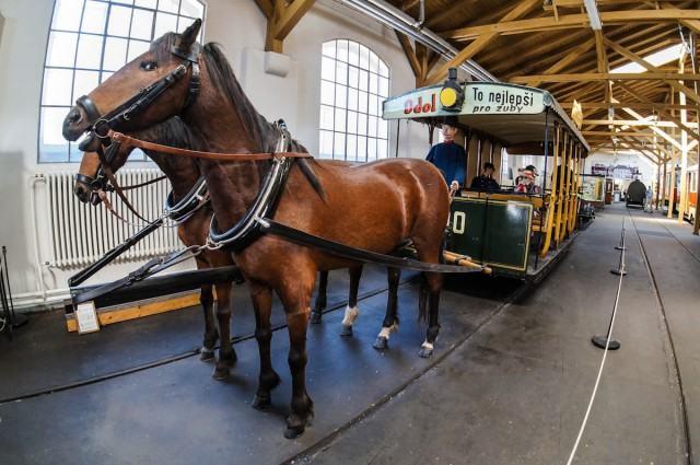 Praha Tramvaj-Konka V Muzee Pragi Новости Чехии Первый трамвай Теплице