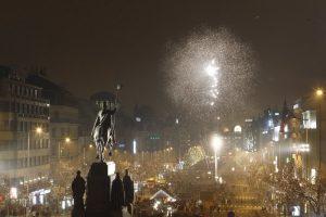 Praha Vaclavak Novy god В Новогоднюю ночь Вацлавская площадь будет закрыта для автомобилей