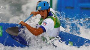 Prskavec Jiri Grebnoj Slalom Rio 2016 Прскавец Иржи