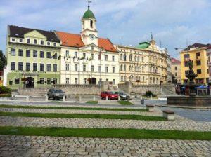 Teplice Nam Svobody Новости Чехии Теплице недвижимость