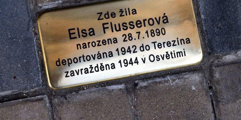 Teplice stolperstein Камни исчезнувших Новости Чехии Теплице евреи