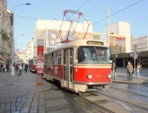 Tramvaj Tatra T3 Новости Чехии Брно подарил трамваи Харькову