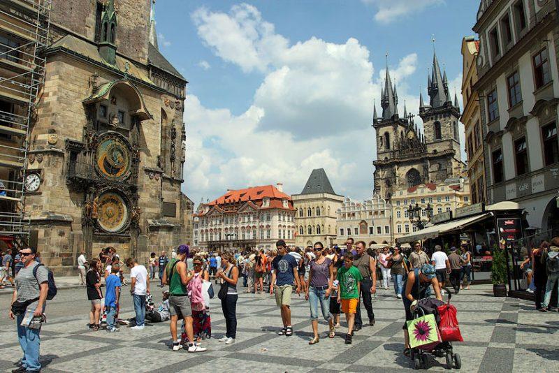 Turisty V Praze Новости Чехии Туризм Прага