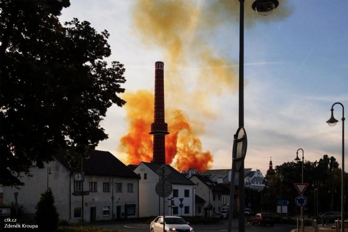 Vzryv Dobrovice Chehiya В Чехии произошел взрыв на кондитерской фабрике, пострадали 10 человек