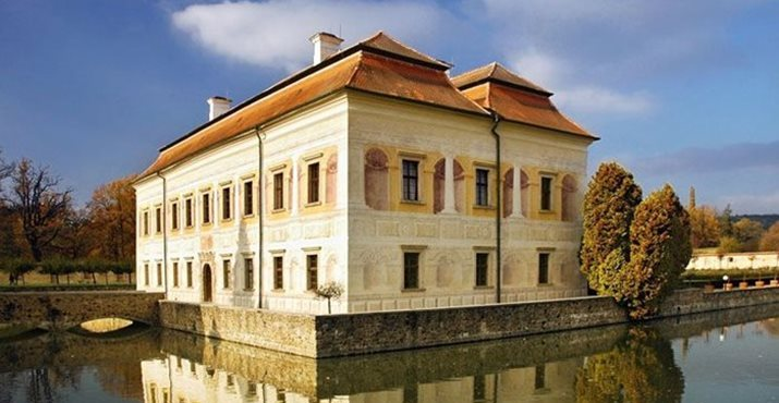 Zamok Kratochvile Замок Кратохвиле