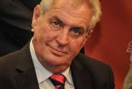 Zeman Milos Президент Чехии Милош Земан