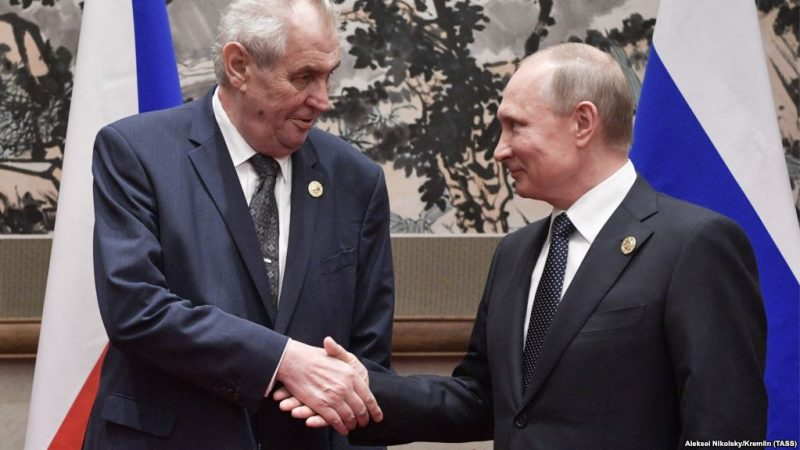 Zeman Putin 2017 Новости Чехии Земан Путин Сочи 2017