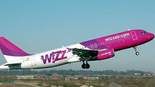 Aviakompania Wizz Air Samolet